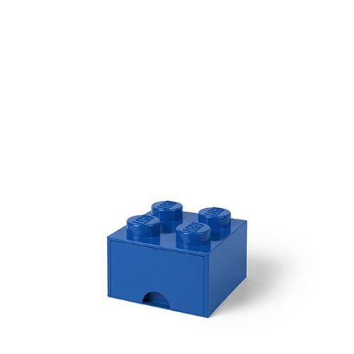 LEGO Blue Brick Drawer 4
