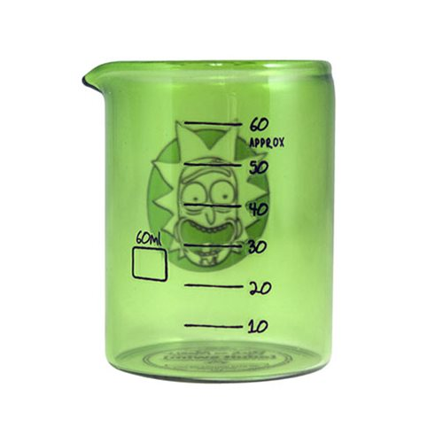 Rick and Morty Laboratory Shot Glass 4-Pack Set