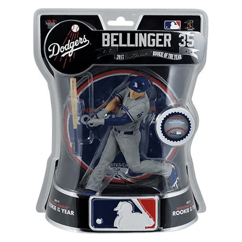 MLB Los Angeles Dodgers Cody Bellinger 2017 NL Rookie of the Year Limited Edition 6-Inch Action Figure