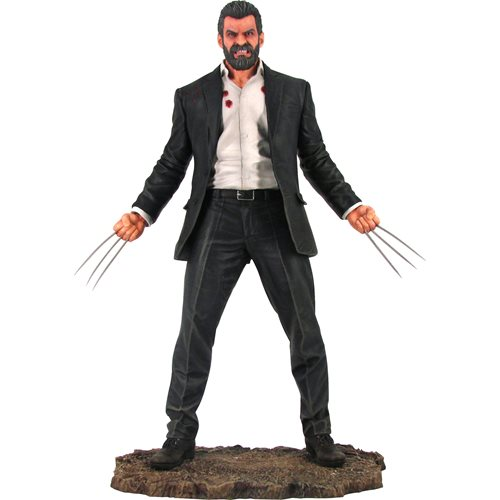 Marvel Movie Premier Collection Logan Statue