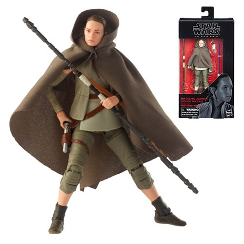 Star Wars The Black Series Rey (Island Journey) 6-Inch Action Figure