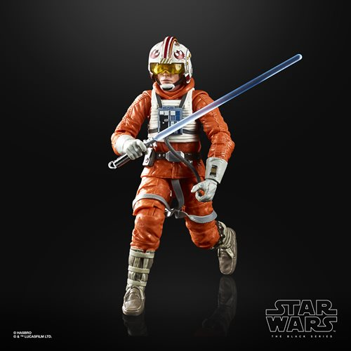 Star Wars The Black Series Empire Strikes Back 40th Anniversary 6-Inch Luke Skywalker Hoth Pilot Act