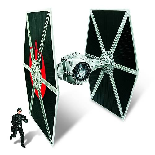 Star Wars Ecliptic Evader TIE Fighter with Hobbie Exclusive