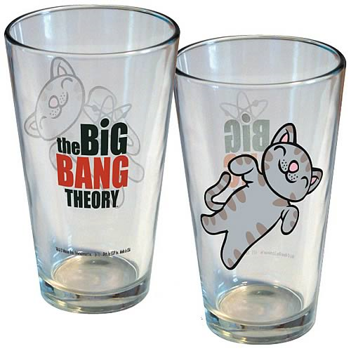 Big Bang Theory Soft Kitty Pint Glass