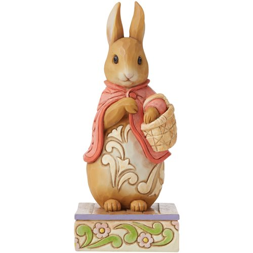 Beatrix Potter Peter Rabbit Flopsy Rabbit Good Little Bunny by Jim Shore Statue