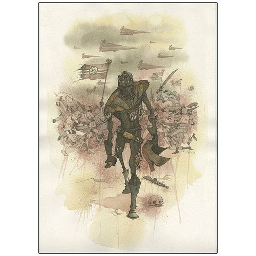 Star Wars Darth Vader's Helmet Canvas Giclee Print