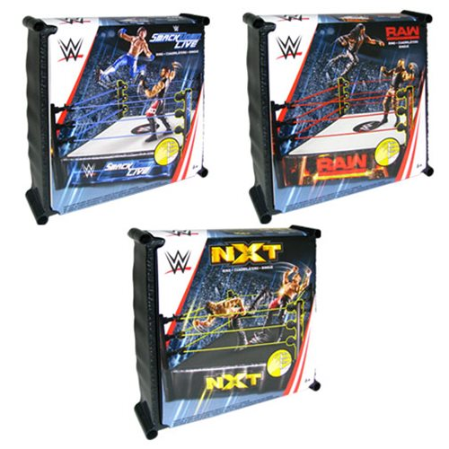 WWE Superstar Wrestling Ring Wave 13 Case