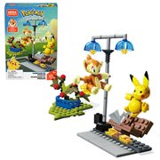 Pokemon Mega Construx Chimchar vs. Pikachu Battle Set