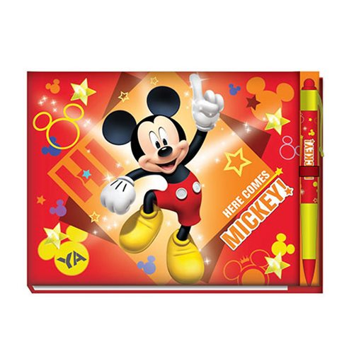Mickey Mouse Deluxe Autograph Book with Pen