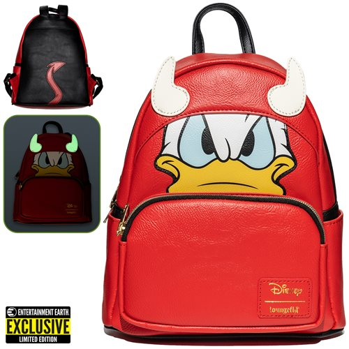 Donald Duck Devil Donald Cosplay Mini-Backpack - EE Excl.
