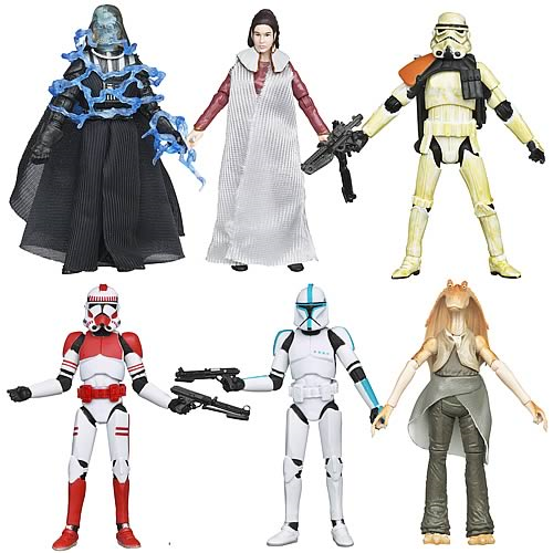 Star Wars Action Figures 2012 Vintage Wave 6