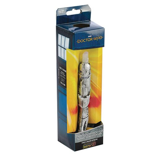 Doctor Who 13th Doctor Sonic Screwdriver, Not Mint
