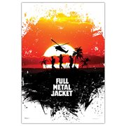 Full Metal Jacket Sunset MightyPrint Wall Art Print