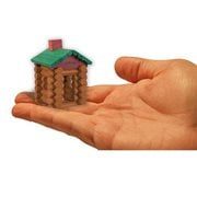 World's Smallest Lincoln Logs Set