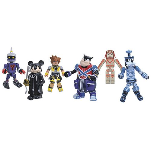Kingdom Hearts Minimates Series 2 Set