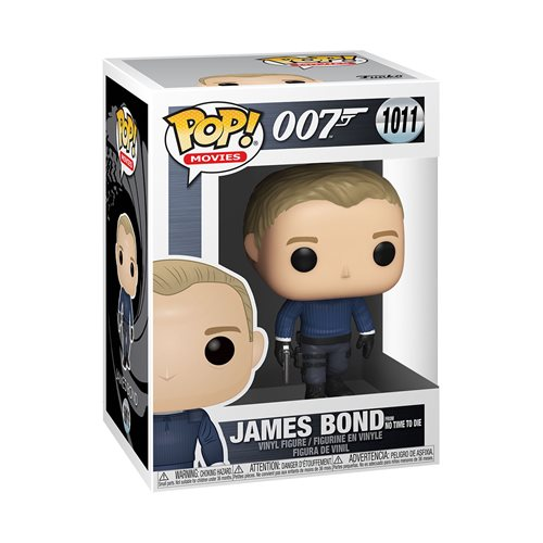 James Bond: No Time to Die James Bond Pop! Vinyl Figure