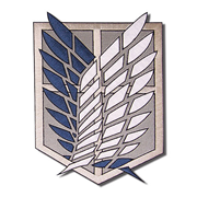 Attack on Titan Scout Regiment Patch