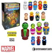 Infinity Gauntlet Pin Mates Wooden Collectibles Set of 16 - Convention Exclusive, Not Mint
