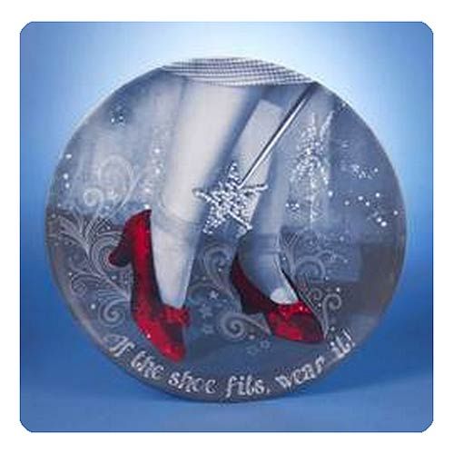 The Wizard of Oz Ruby Slippers 14-Inch Melamine Tray