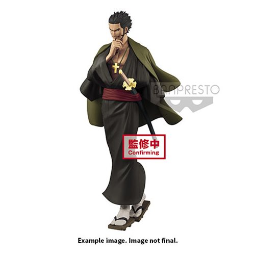 One Piece Treasure Cruise World Journey Vol.3 Dracule Mihawk Statue