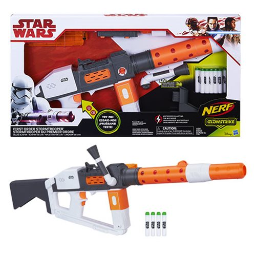 Star Wars: The Last Jedi First Order Stormtrooper Nerf GlowStrike Blaster