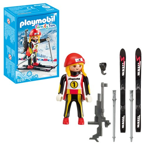 Playmobil 9287 Female Biathlete