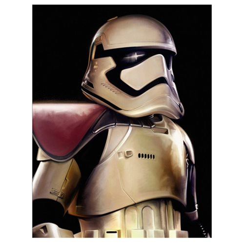 Star Wars: The Force Awakens First Order Stormtrooper Canvas Giclee Art Print