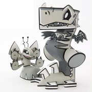 Wrecks and Dazey Fossil Edition Vinyl Figure Set