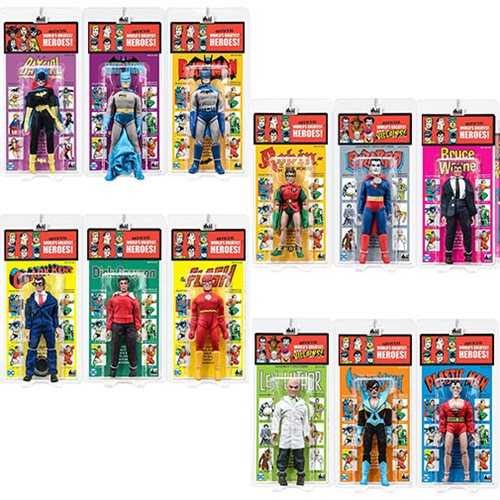 DC Comics Kresge Style 8-Inch Retro Action Figures Series 4