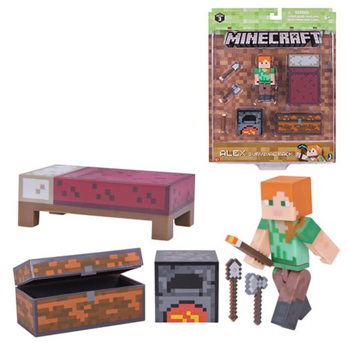 Minecraft Series 3 Alex Survival Pack