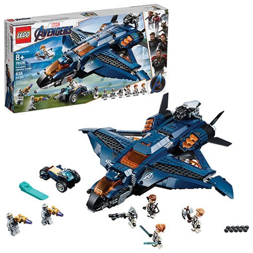 LEGO 76126 Marvel Super Heroes Avengers Ultimate Quinjet