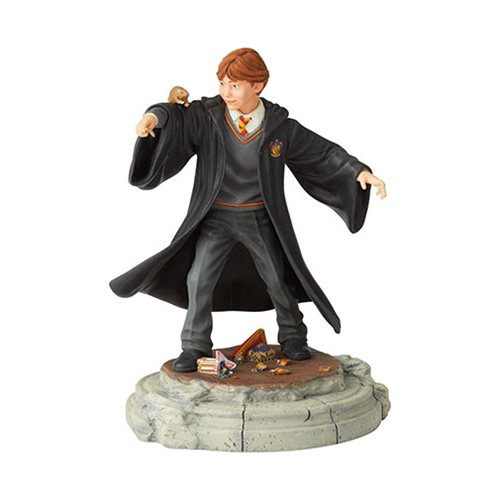 Wizarding World of Harry Potter Ron Weasley Year One Statue