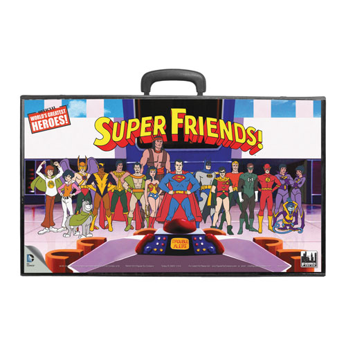 Super Friends Retro Action Figures Carry Case