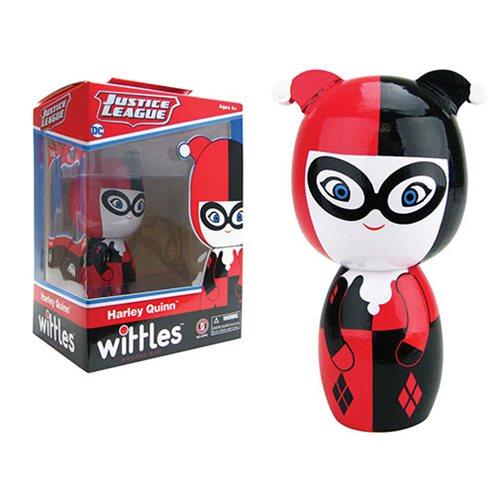Harley Quinn Wittles Wooden Doll Entertainment Earth