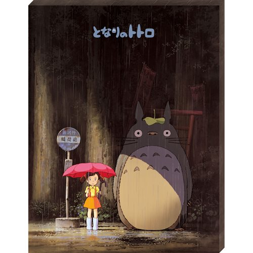 My Neighbor Totoro Meeting Totoro Artboard Canvas Style 366-Piece Jigsaw Puzzle