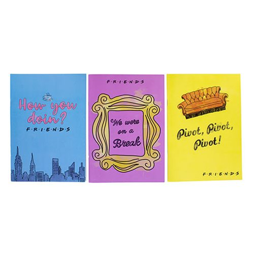 Friends Notebooks 3-Pack