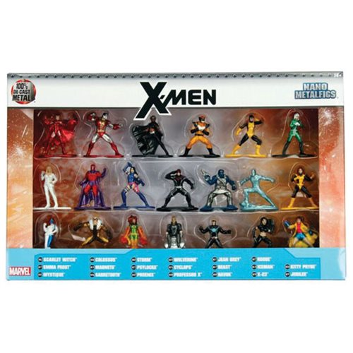 Marvel Nano Metalfigs Die-Cast Metal Mini-Figures 20-Pack