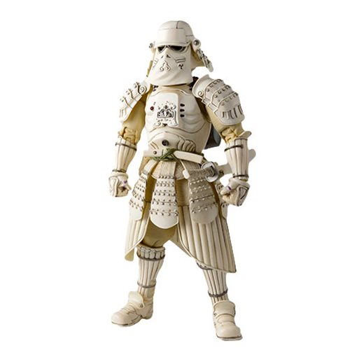 Star Wars Kanreichi Ashigaru Snow Trooper Meisho Movie Realization Action Figure P-Bandai Tamashii E