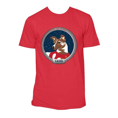 Laika The First Animal to Orbit Earth T-Shirt