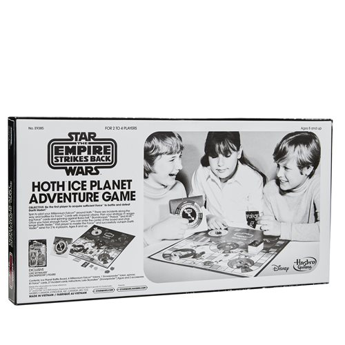 Star Wars The Empire Strikes Back Hoth Ice Planet Retro Game with Exclusive Action FIgure