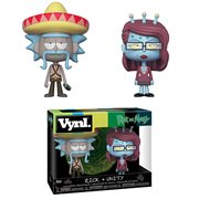 Rick and Morty Rick with Sombrero and Unity Vynl. Figure 2-Pack