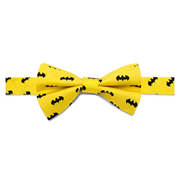 Batman Classic Yellow Boys Large Silk Bowtie