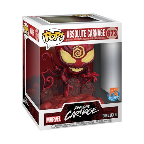 Marvel Heroes Absolute Carnage Deluxe Pop! Vinyl Figure - Previews Exclusive