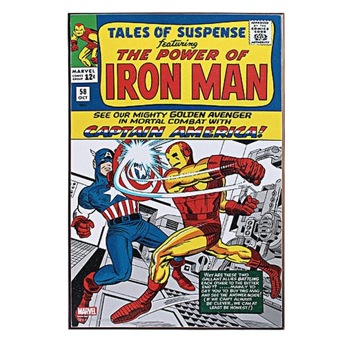 Iron Man Tales of Suspense Wood Wall Art