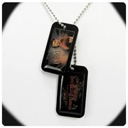 Twilight Breaking Dawn Jacob Dog Tags Necklace