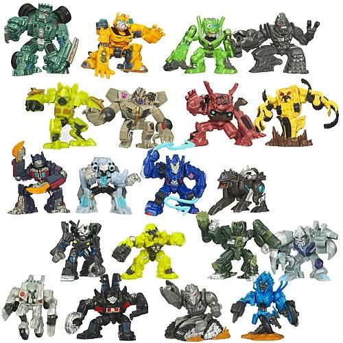 Transformers 2009 Revenge of the Fallen Robot Heroes Battle of the Fallen Set