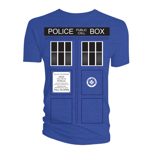 Doctor Who TARDIS Doors T-Shirt