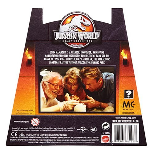 Jurassic World John Hammond Legacy Collection Action Figure - 2019 Convention Exclusive