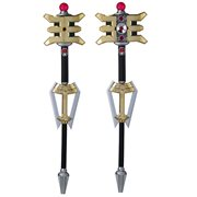 PR Legacy Zeo Golden Power Staff Prop Replica, Not Mint