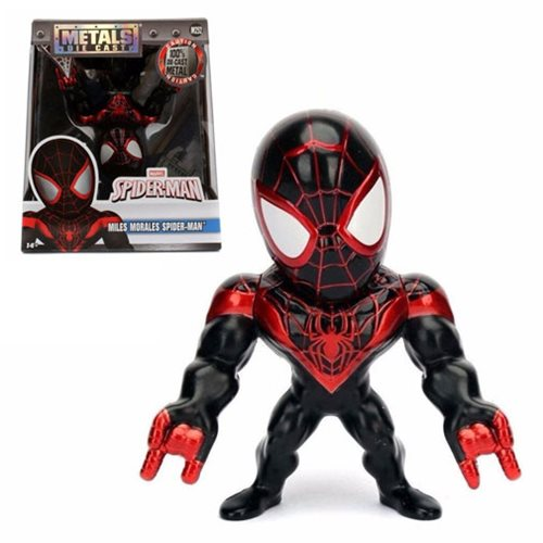 Spider-Man Miles Morales 4-Inch Metals Die-Cast Action Figure